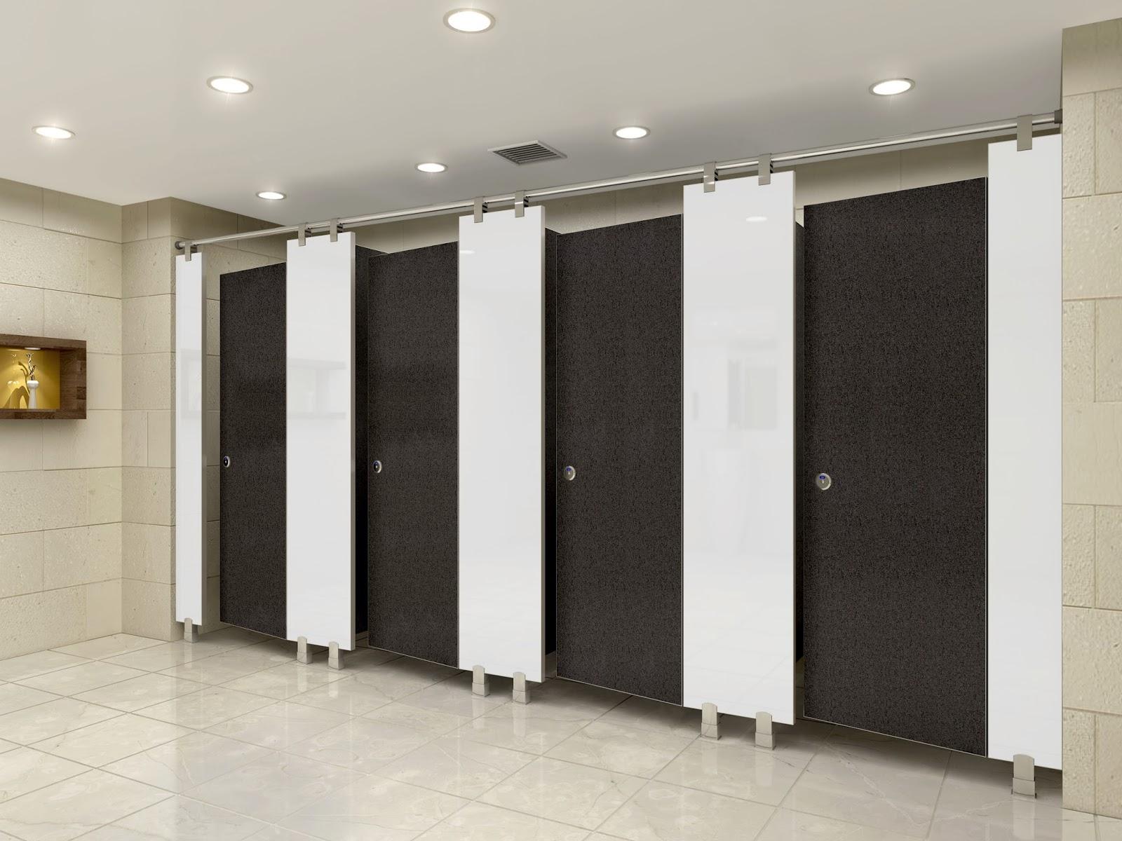 Vì sao cần lắp đặt vách ngăn vệ sinh cho trung tâm thương mại?