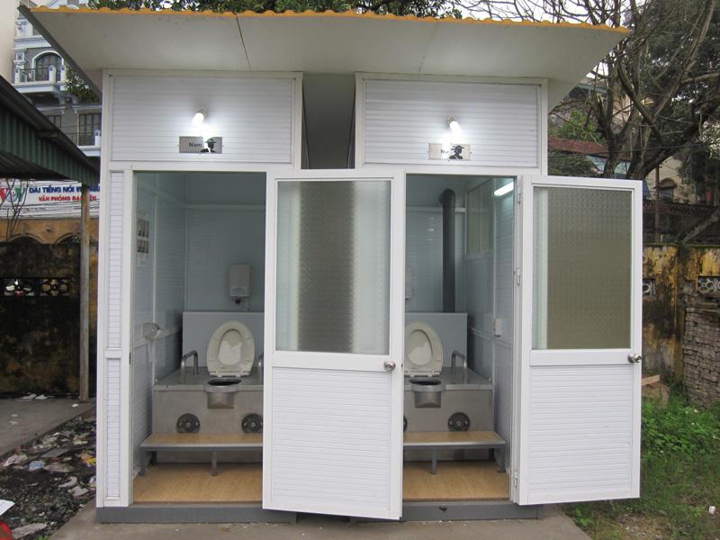 Dự toán chi phí xây dựng nhà vệ sinh công cộng hiện nay