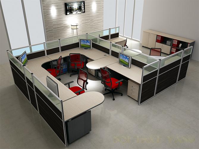 Cách bố trí khu vực làm việc tại văn phòng đẹp nhất