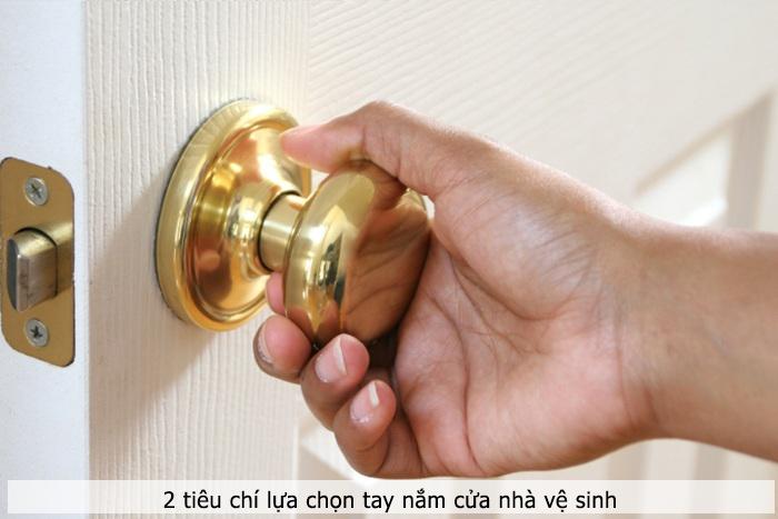 2 tiêu chí để lựa chọn tay nắm cửa phụ kiện vách ngăn