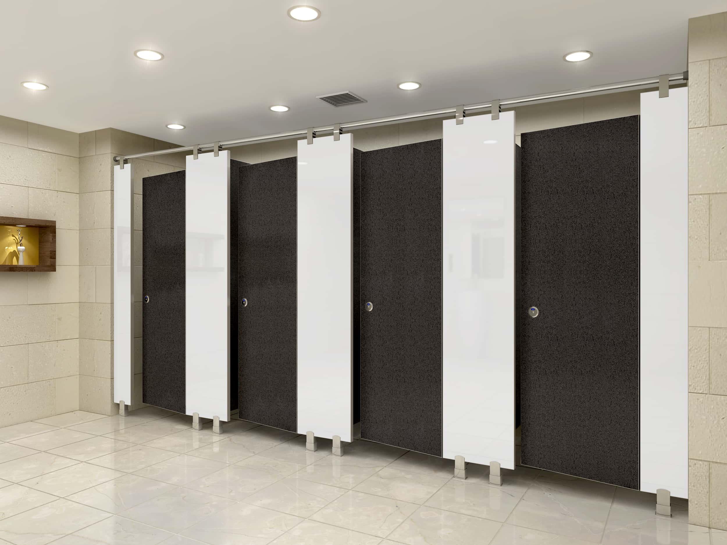 Vì sao vách ngăn vệ sinh lại thay thế được tường gạch?