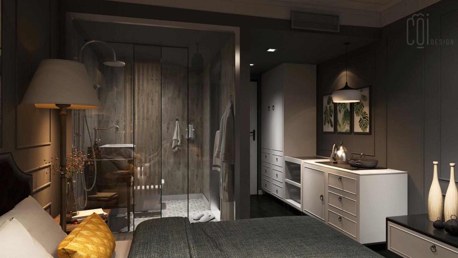 Nhà vệ sinh trong phòng ngủ - Mẫu 6