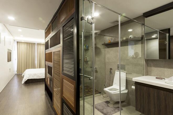 Nhà vệ sinh trong phòng ngủ - Mẫu 7