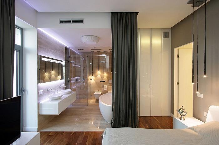 Nhà vệ sinh trong phòng ngủ - Mẫu 1